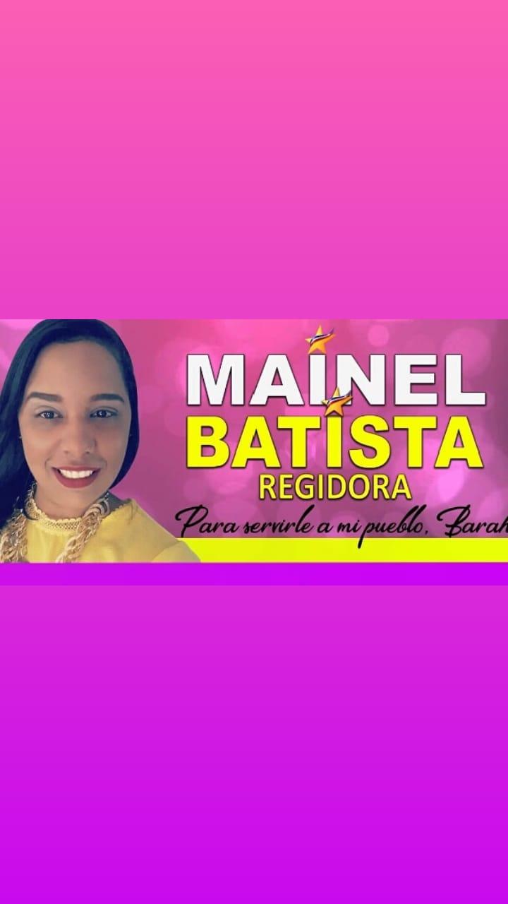 MAINEL BATISTA REGIDORA 2020-2024