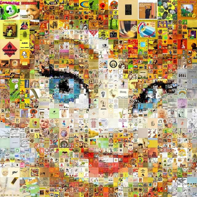 Tinker Bell Mosaic por Cornejo-Sanchez