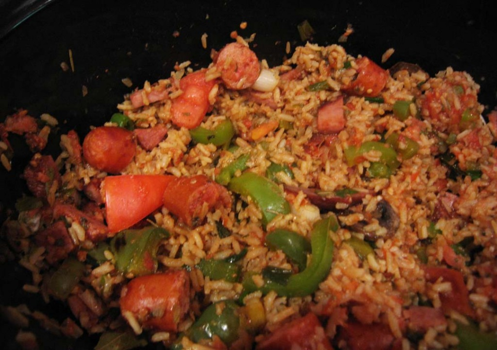 Food DJ: ALL I CAN DO IS BLOG ABOUT IT.. (recipe:Jambalaya)