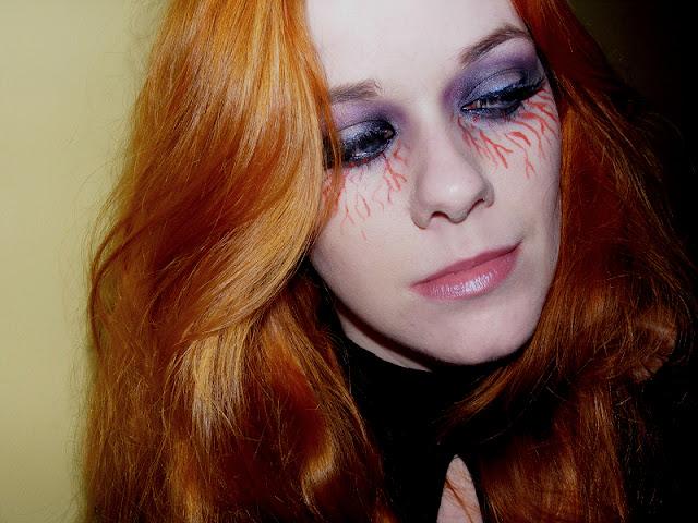 Eowina1818 Makijaż Na Halloween Wampirzy Glam