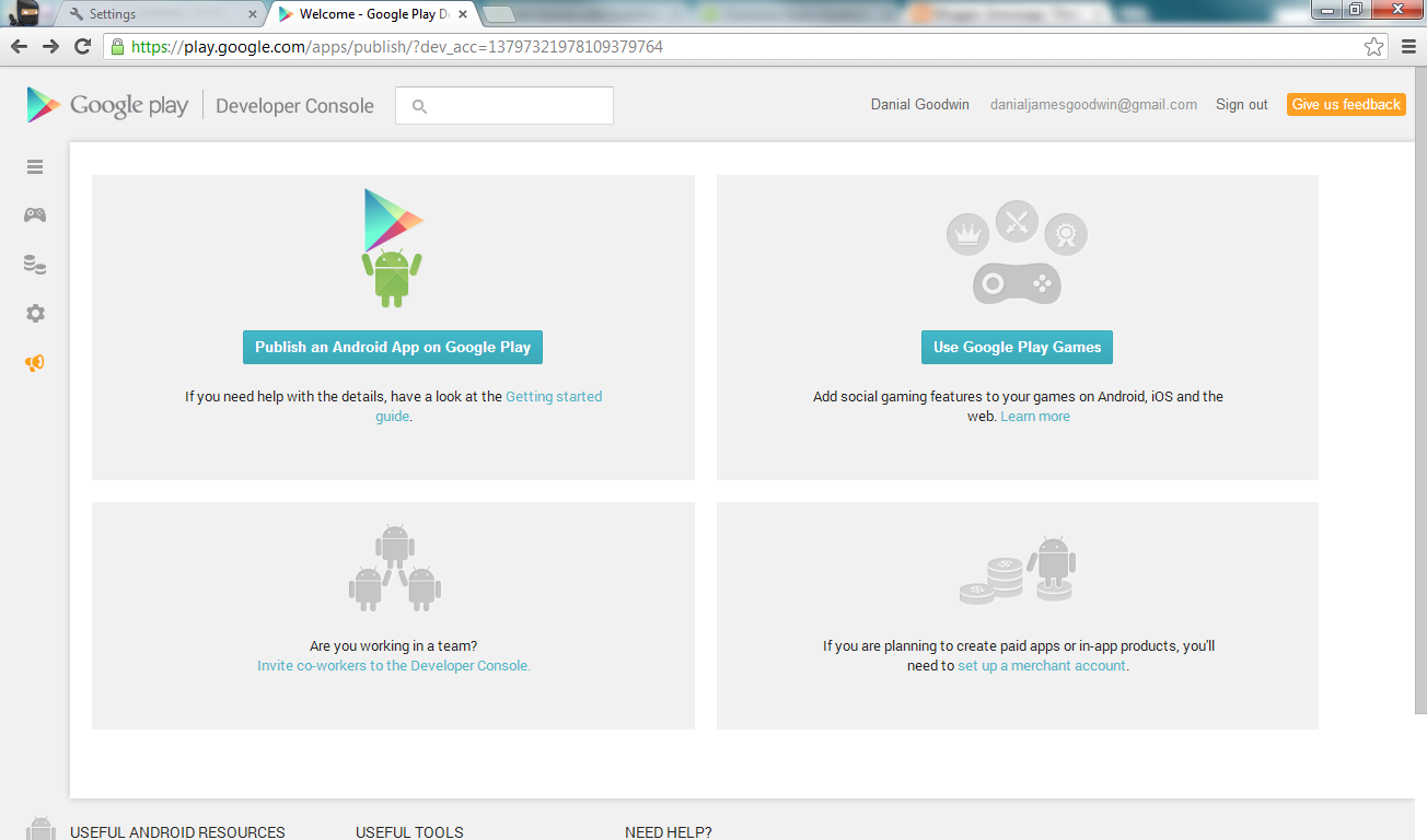 How to get started with publishing apps on google play - Google developper console ...