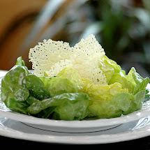 Boston Lettuce with Creamy Parmesan Dressing