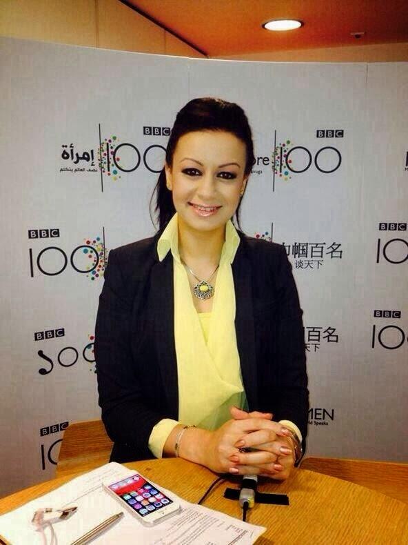 سفيرة مصرية عبر الأثير العالمي