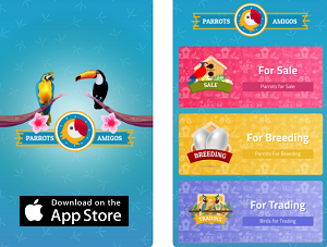 Lifestyle App of the Week - Parrots Amigos
