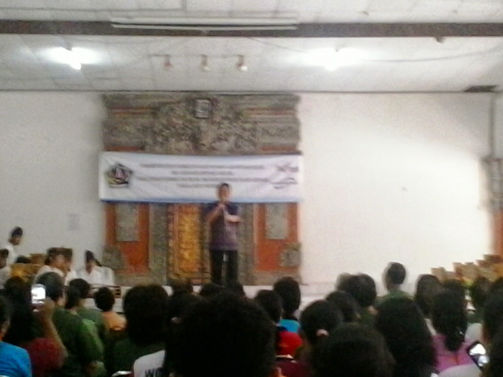 Acara pembukaan pelatihan Yoga Asanas di Denpasar
