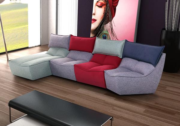 Divani modulari colorati idee per il design della casa - Divani colorati ...
