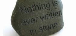 Rubrica - Gravado na Pedra