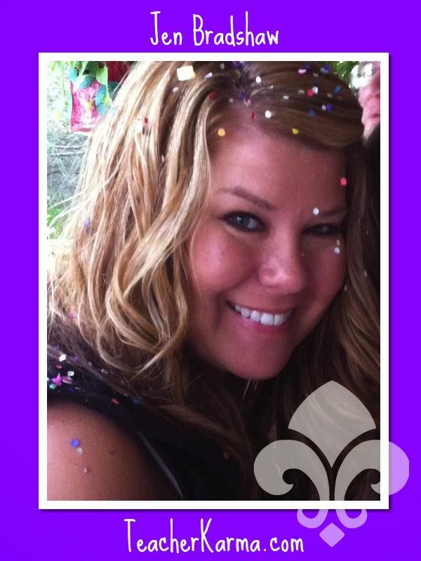 Jen Bradshaw author of educational blog:  teacherkarma.com