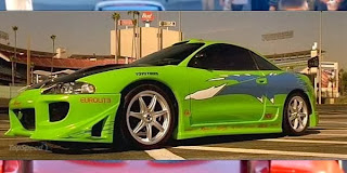 Foto Mobil Mitsubishi Eclipse 1998 Paul Walker Car