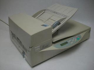 Fujitsu FI-4340C Image Scanner Flatbed Color Duplex Document Scanner 600DPI