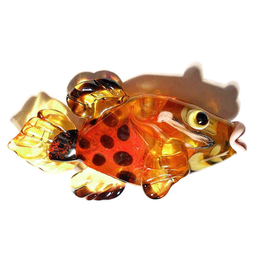 Lampwork Glass Beads, Playing With Fire: Glass Fish Inspirations