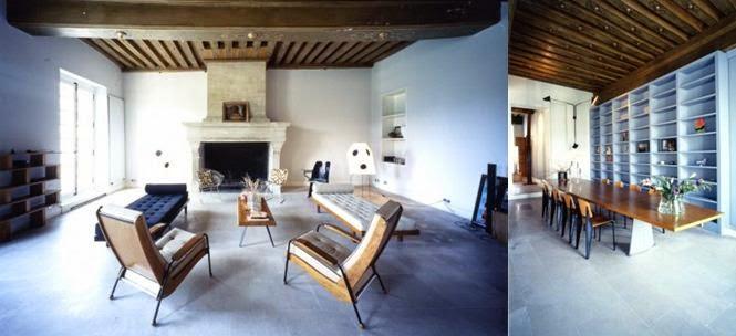 Phong cách tối giản của gout nội thất hãng Jean Prouvé