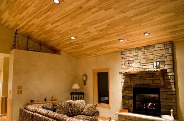 Interior Design Wood Paneled Ceilings Ideas