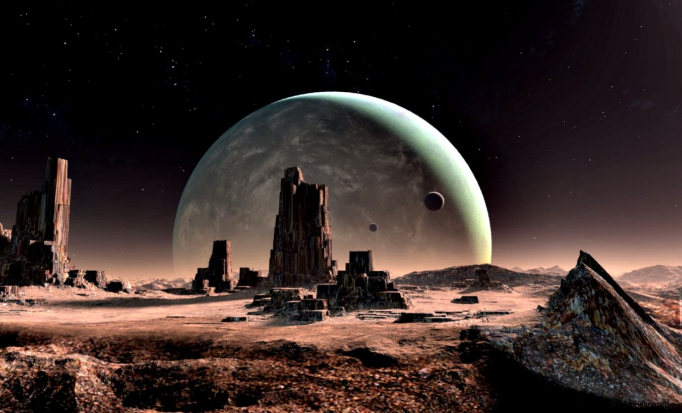 Alien Landscape Wallpaper   WallpaperSafari