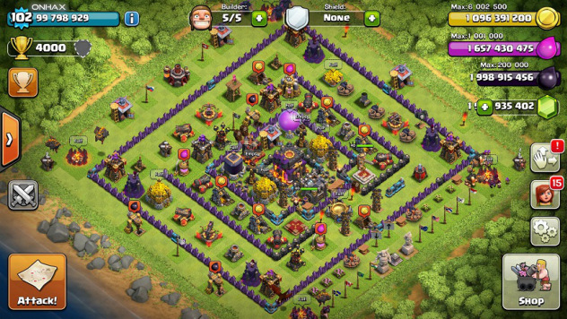 Clash of Clans v7.156 APK MOD (HACK UNLIMITED)