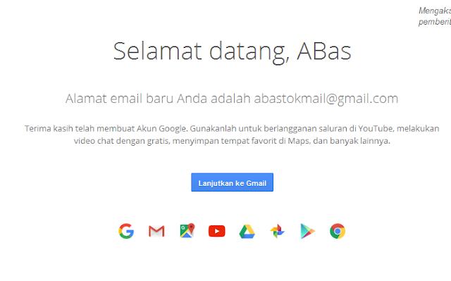 cara mudah membuat akun gmail, cara membuat email Google, Buat Gmail