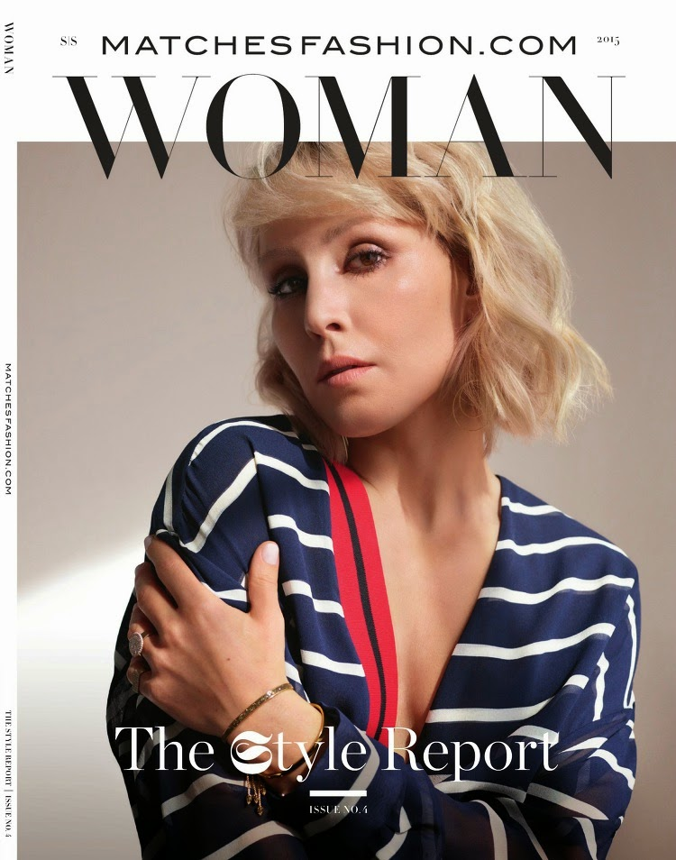 Actress @ Noomi Rapace - MatchesFashion's The Style Report, Spring/Summer 2015