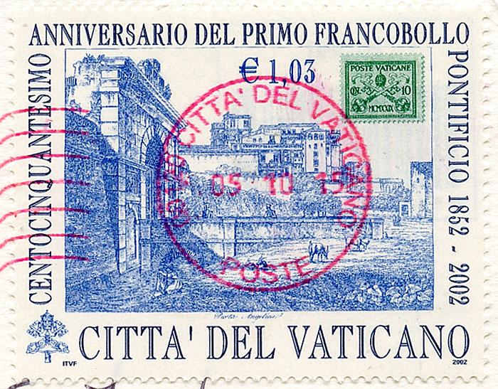 La Bote Aux Lettres Du Monde Carte Postale Du Vatican