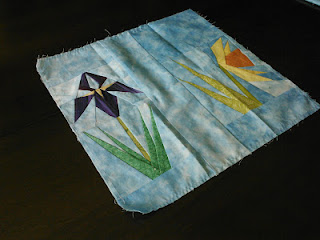 Iris Quilt Block Daffodil Quilt Block Block Swap