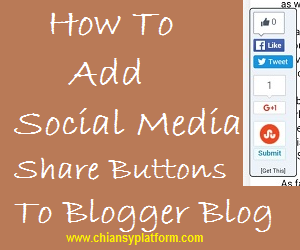 how to add social share buttons to website