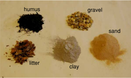 Earth learning idea make your own soil for What is soil made out of