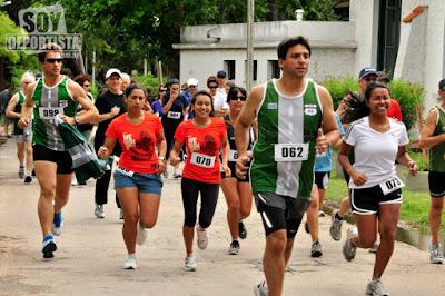 5k Ruteros 60 - Despedida del año en parque Rivera (06/dic/2015)