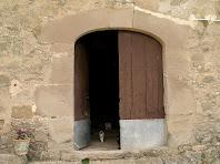 Portal d'entrada d'El Mas de L'Espunyola