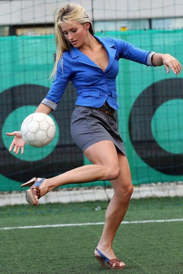 If Only There Were More Footballer Girls Like This!