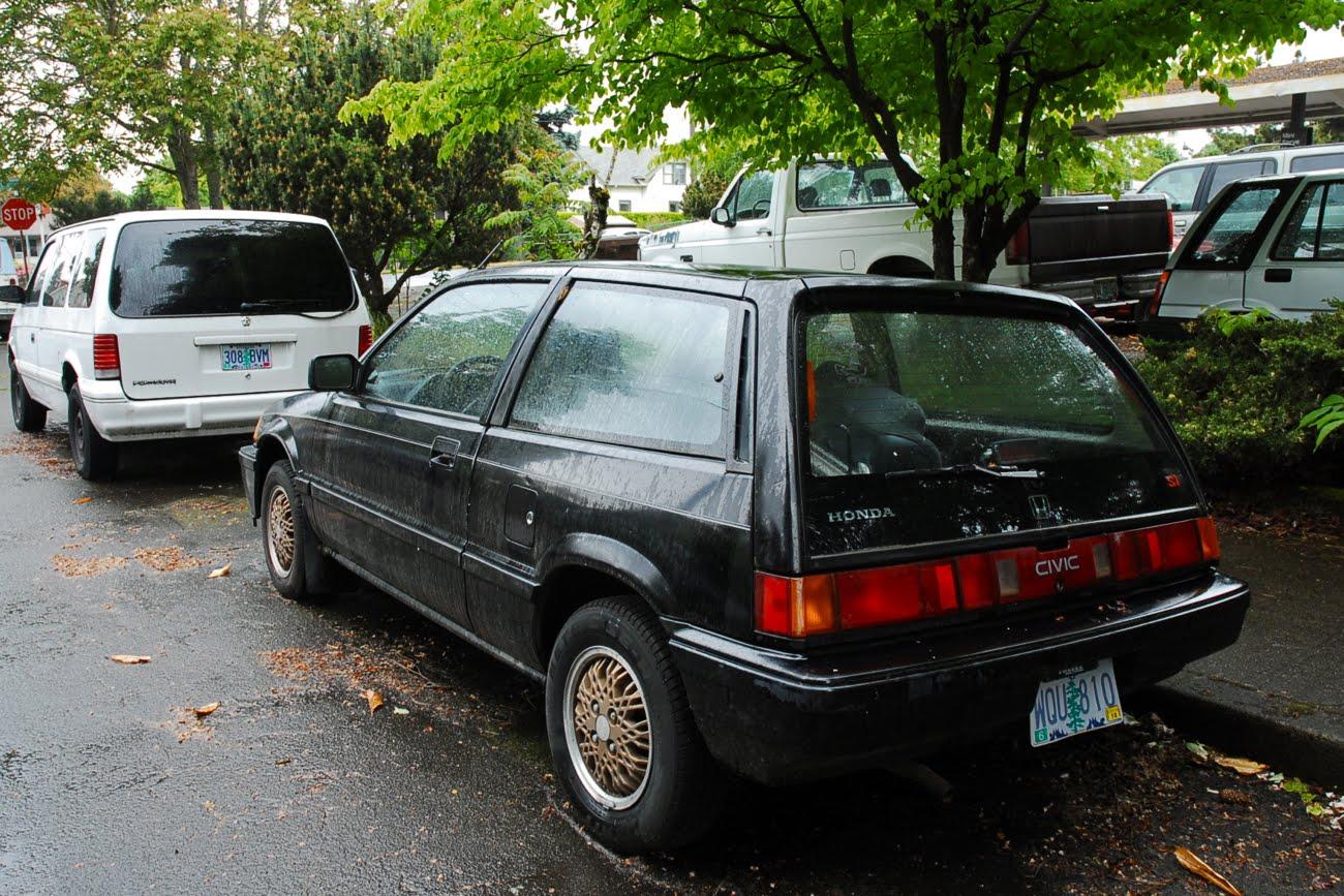 old parked cars 1986 honda civic si. Black Bedroom Furniture Sets. Home Design Ideas