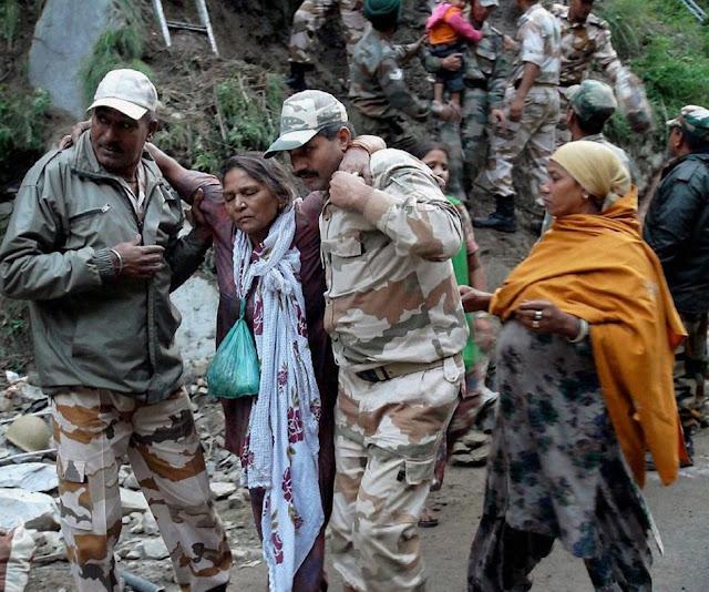 வெள்ள நிவாரணப் பணிகள்-கேதர்நாத்..படங்கள் இணைப்பு Floods.+Rescue+26.