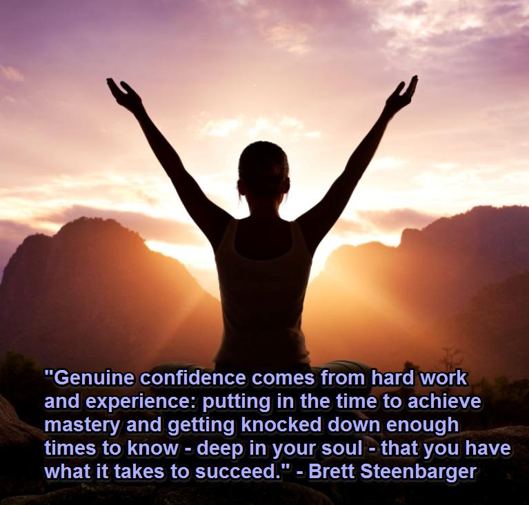 Confidence mastery work experience failure motivation Brett Steenbarger