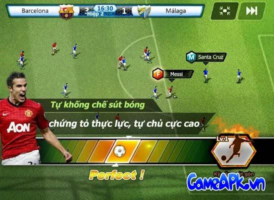 Winning Soccer: Game đá bóng tiếng việt cho Android