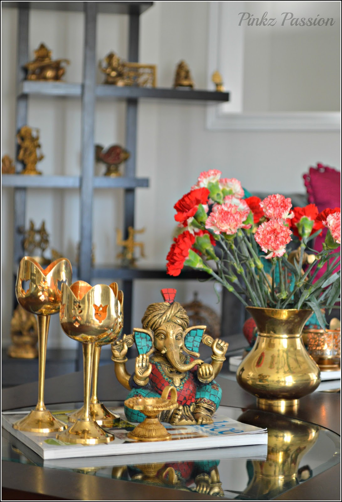 Pinkz passion a month of romance for South indian home decor ideas
