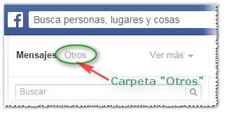 Mensajes de Otros en Facebook - MasFB