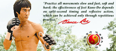 Great Quote from Sigung Bruce LeeBruce Lee Quotes On Practice