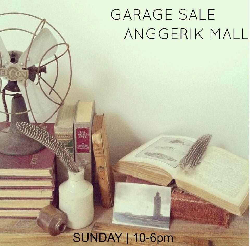 GARAGE SALE@ ANGGERIK MALL,SHAH ALAM.
