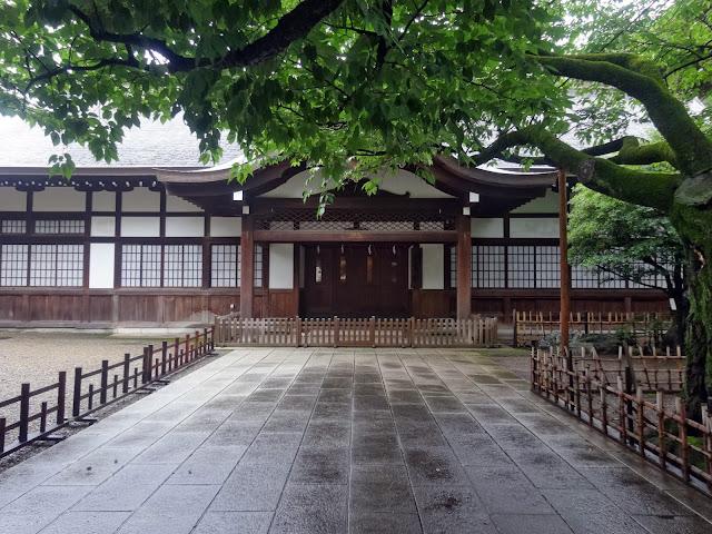 到着殿,靖国神社〈著作権フリー無料画像〉Free Stock Photos