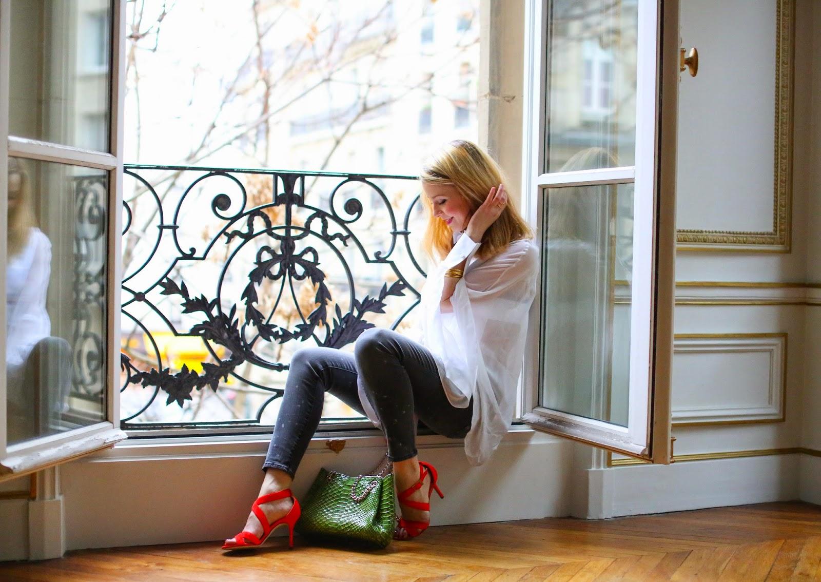 jimmy choo, valentino, paris, fashion blogger, hudson jeans
