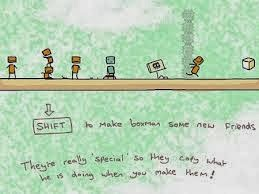 USE BOXMEN FLASH GAME