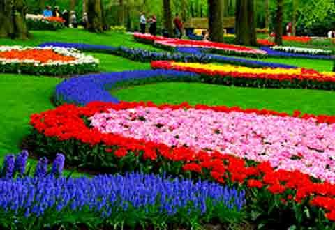 10 most beautiful flower garden in the world for Amazing flower gardens