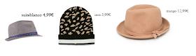 composición de sombreros