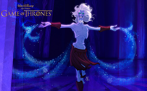 GoT/Disney Mash-Up of a White Walker