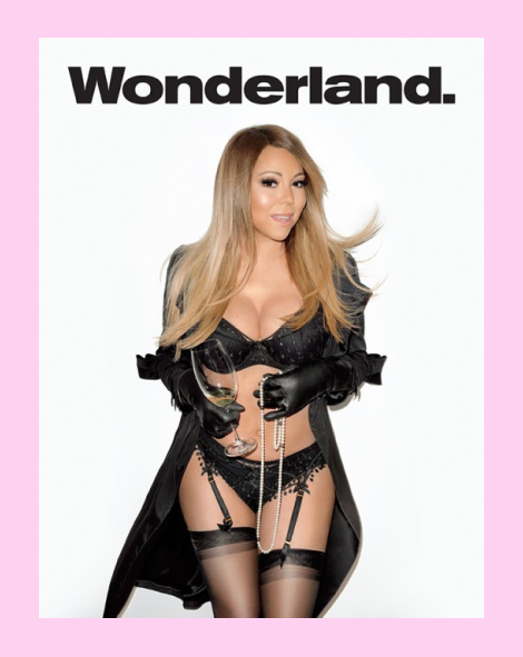 Mariah Carey by Terry Richardson for Wonderland Mag 2014