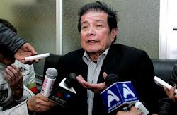 el abogado Mercado que conduce la defensa del narcogeneral Sanabria se ha quedado hoy contra Evo