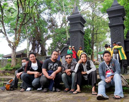 Pintu gerbang Wisata Candi Gedong Songo
