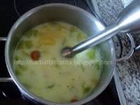 Supa crema de dovlecei preparare reteta