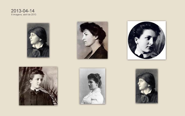Alma Schlinder, depois Mahler, Gropius, Werfel.