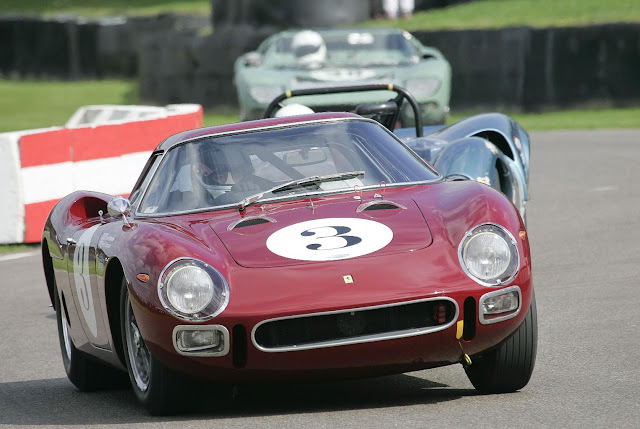 Ferrari 250LM Racing at Goodwood