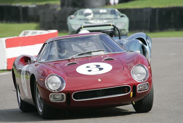 Ferrari 250LM Racing at Goodwood