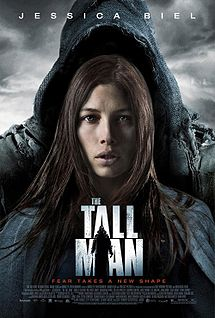"Film poster ""The Tall Man"" 2012 movieloversreviews.blogspot.com"